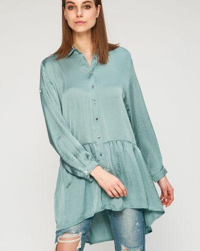 Зеленая блузка оверсайз Answear