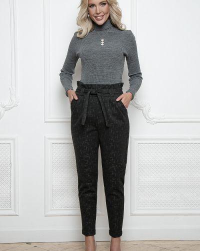 Деловые шерстяные классические брюки на резинке Bellovera