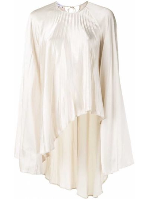 Блузка с вырезом - белая Beaufille