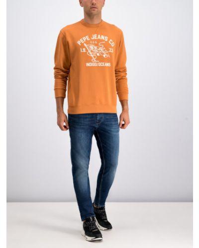 Pomarańczowa bluza Pepe Jeans