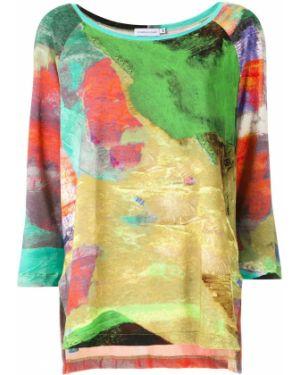 Блузка с принтом Mara Mac