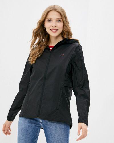 Облегченная черная куртка Tommy Hilfiger