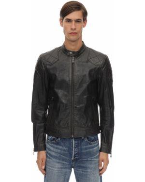 Пиджак с карманами кожаный Belstaff