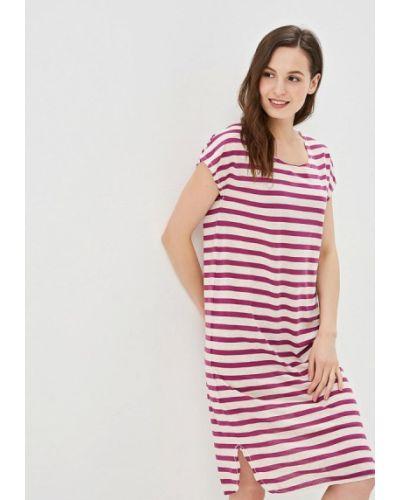Платье футболка фиолетовый Selected Femme