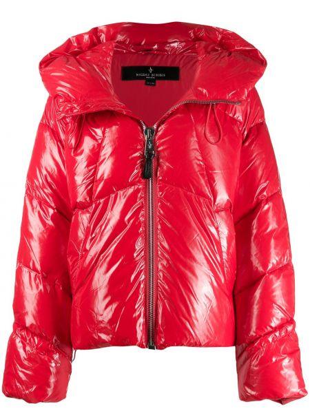 Длинное пальто стеганое укороченное Nicole Benisti