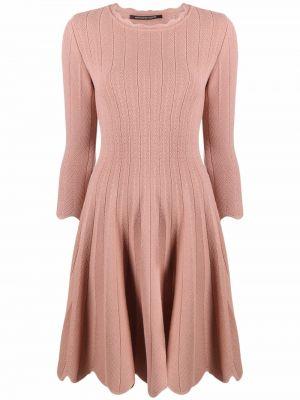 Расклешенное платье - розовое Antonino Valenti