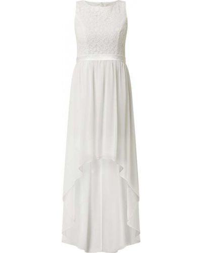 Biała sukienka koktajlowa rozkloszowana bawełniana Jake*s Cocktail