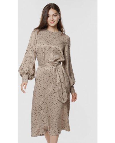 Повседневное платье - бежевое Arber