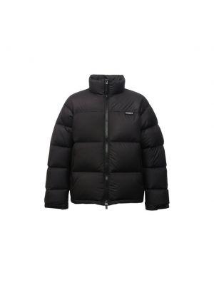 Черная французская куртка Vetements