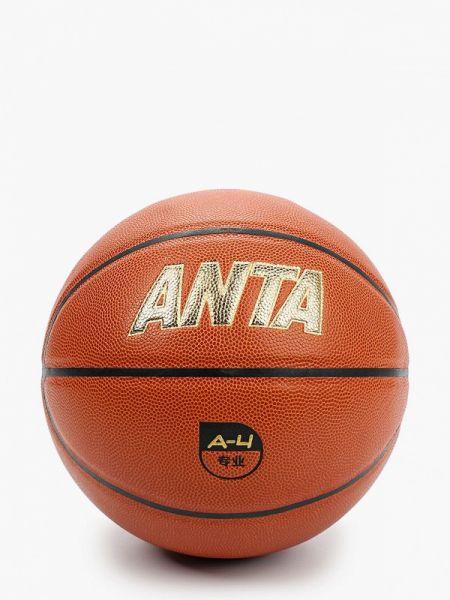 Коричневый баскетбольный спортивный костюм Anta