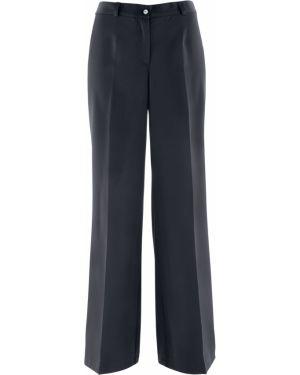 Спортивные брюки со стрелками расклешенные Bonprix