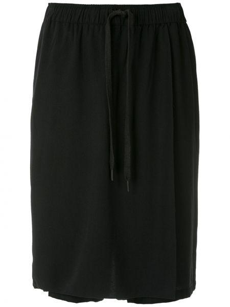 Черные с завышенной талией шорты с карманами Uma Raquel Davidowicz