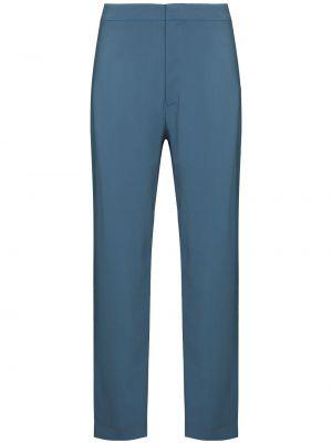 Синие брюки с карманами Asceno