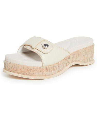Sandały skórzane na obcasie Rag & Bone