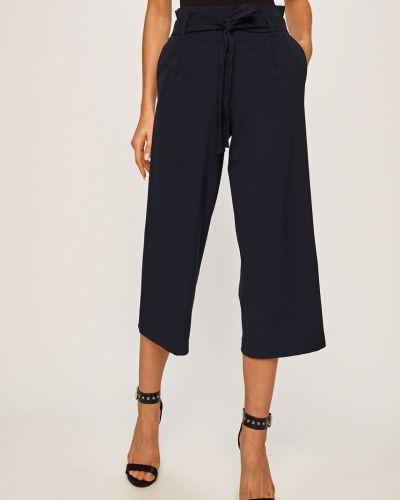 Свободные брюки с карманами с завышенной талией Only