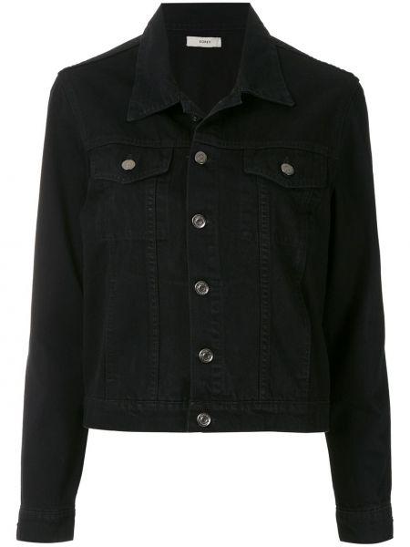 Черная джинсовая куртка Egrey