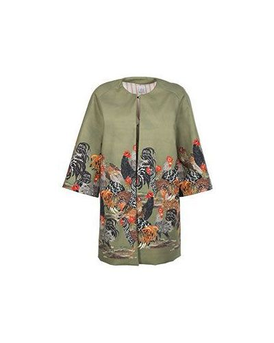 Пальто зеленое пальто Stella Jean