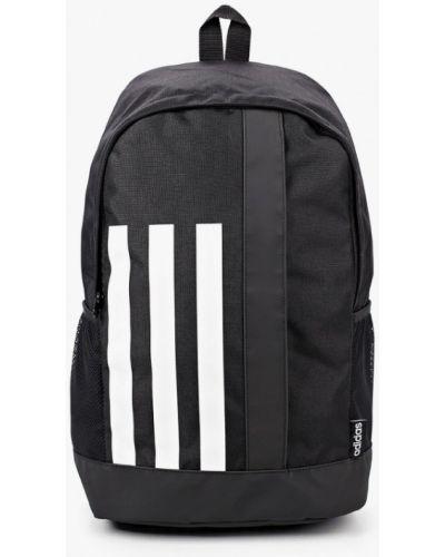Черный текстильный рюкзак Adidas