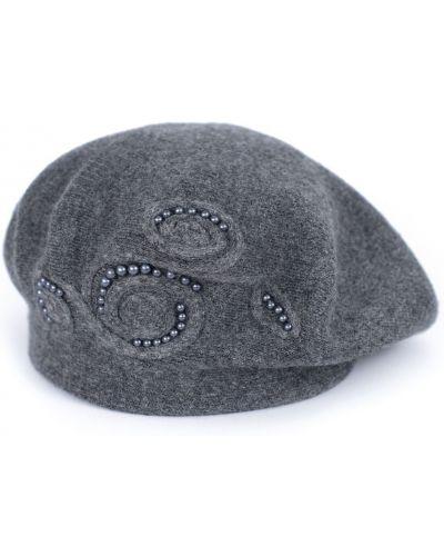 Szary beret z angory Art Of Polo