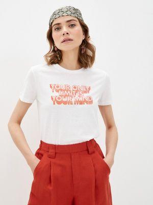 Белая футболка с короткими рукавами Ovs