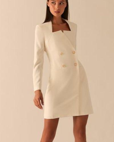 Платье с запахом с длинными рукавами с карманами с подвесками Love Republic