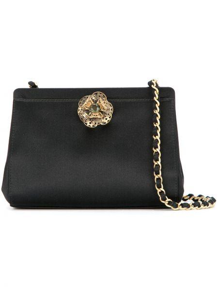 Черная сумка на плечо винтажная Chanel Pre-owned
