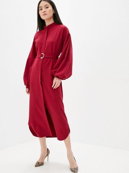 Бордовое вечернее платье Lipinskaya Brand