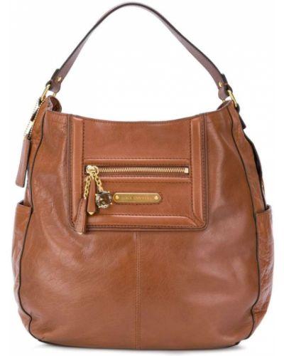 Кожаный сумка сумка-хобо из полиэстера Juicy Couture
