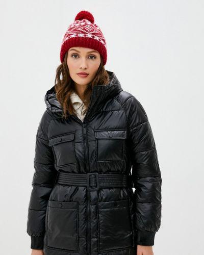 Черная утепленная куртка Sh