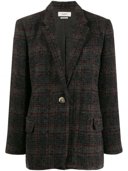 Классический пиджак с карманами на пуговицах свободного кроя Isabel Marant étoile