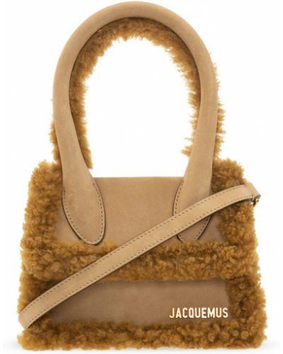 Brązowa torba na ramię Jacquemus