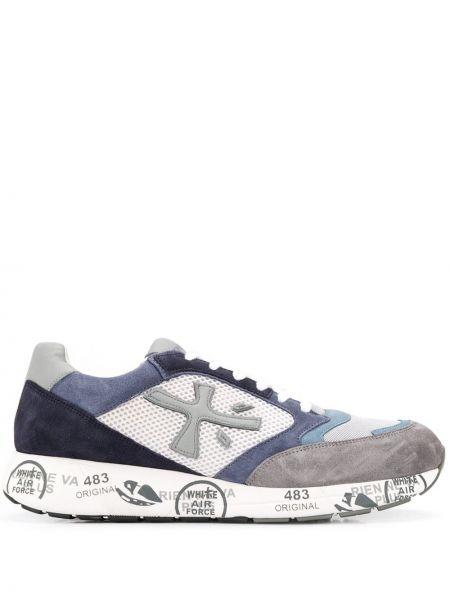 Кроссовки на шнуровке с логотипом Premiata