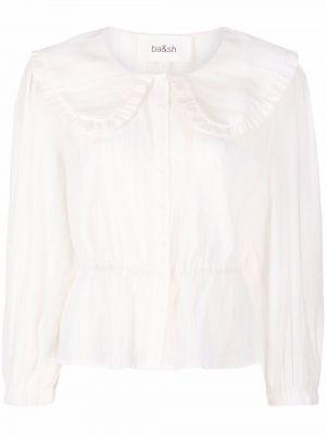Белая рубашка длинная Ba&sh