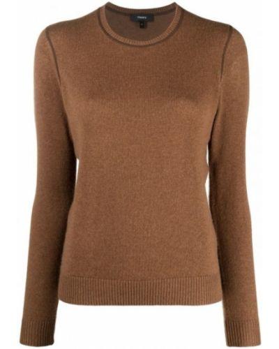 Brązowy sweter Theory