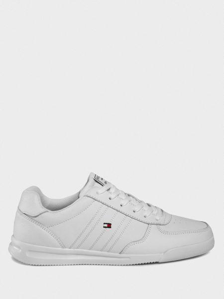 Кожаные кроссовки - белые Tommy Hilfiger