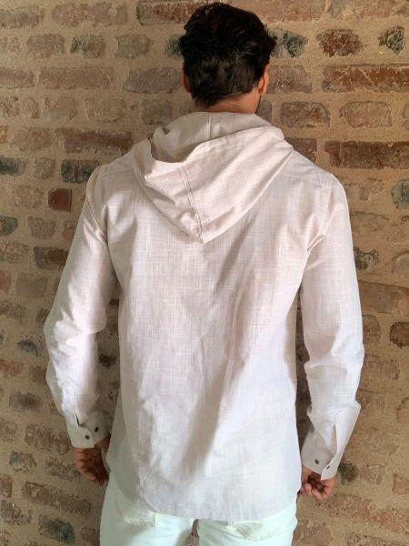 Рубашка с длинным рукавом - бежевая Trendyol Men