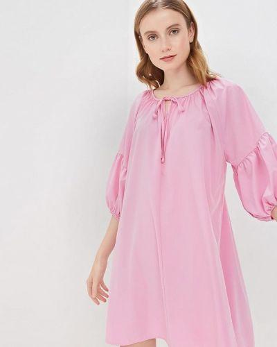 Платье розовое весеннее Glamorous