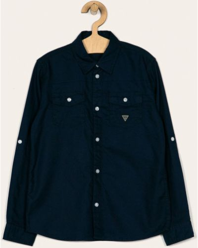 Dżinsowa koszula na przyciskach włókienniczy Guess Jeans