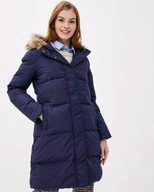 Зимняя куртка осенняя синий Gap