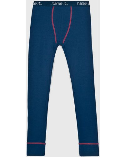 Брюки на резинке трикотажные пижамные Name It