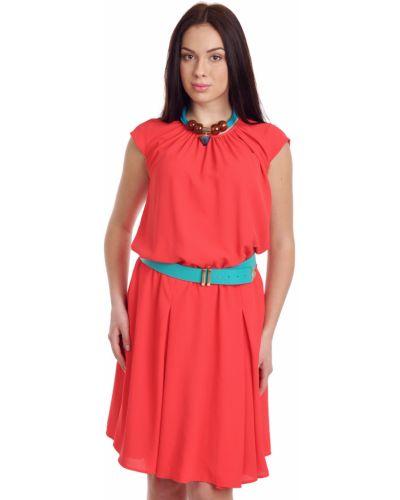 Платье из крепа - красное Hotel Particulier