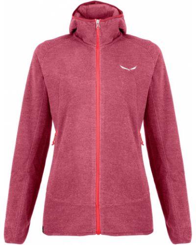 Флисовая куртка - розовая Salewa