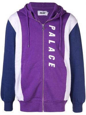 Худи длинное - фиолетовое Palace
