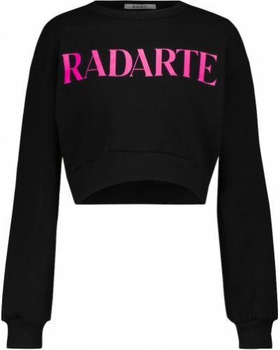 Хлопковый свитшот - черный Rodarte