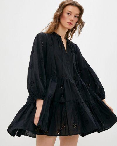 Пляжное платье - черное Seafolly Australia