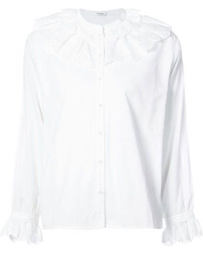 Блузка с рюшами с длинным рукавом на кнопках Vilshenko