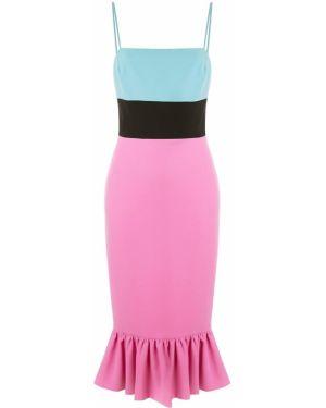 Облегающее платье миди Christian Siriano