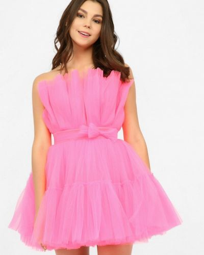 Вечернее платье - розовое Miodress