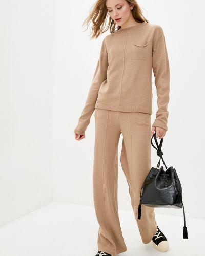 Вязаный костюм - коричневый Sewel
