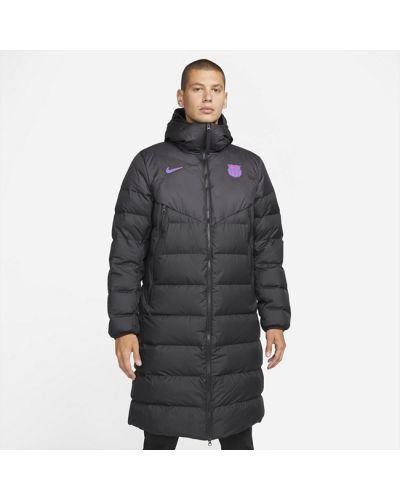 Пуховая куртка - черная Nike